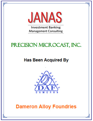 Precision Microcast, Inc.